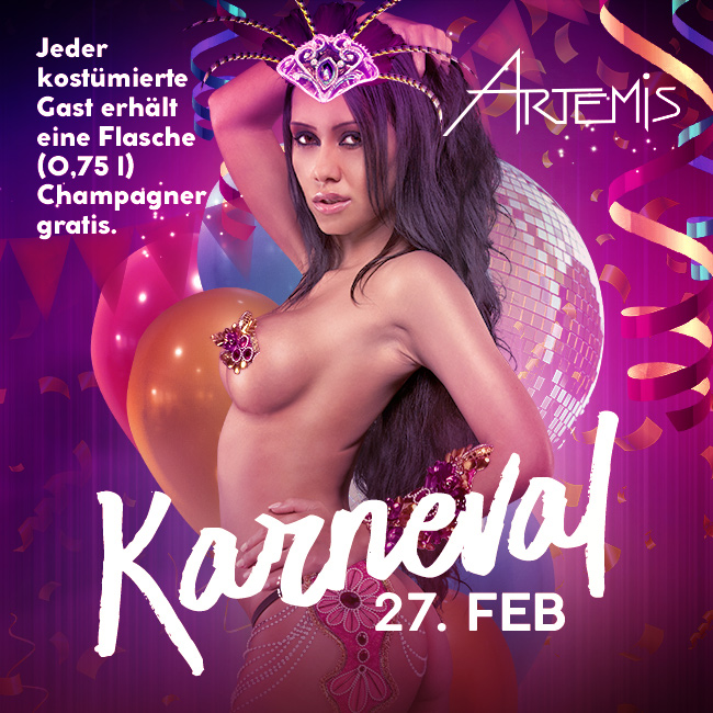Eventgrafik Karneval - 27. Feb
